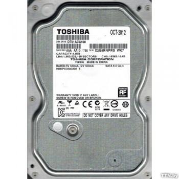 """3.5"""" HDD 1.0TB  Toshiba DT01ACA100"""